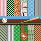 Digital Paper Backgrounds Baseball Digital Paper and Clip Art