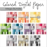Digital Paper Backgrounds: Mega Bundle