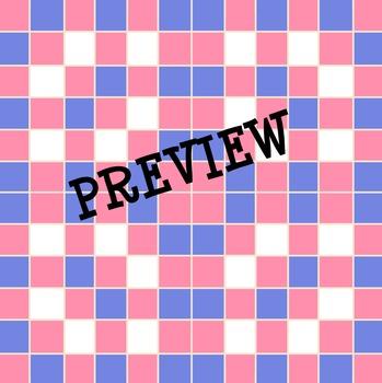 Digital Paper Backgrounds : Tiles - 51 Backgrounds