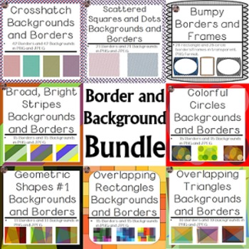 Backgrounds and Borders - Complete Collection Bundle