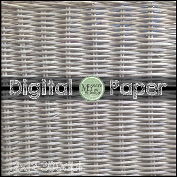 Digital Paper Basket Texture Pattern Backgrounds {Messare Clips and Design}