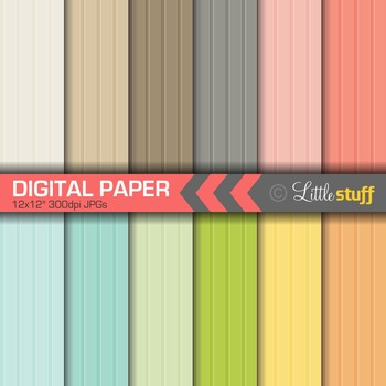 Digital Paper, Beadboard Digital Paper, Wainscoting Digital Background