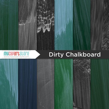 Digital Paper Texture - Blackboard / Dirty Chalkboard (school)