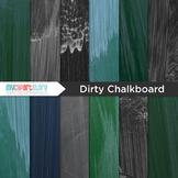 FREE Digital Paper Texture - Blackboard / Dirty Chalkboard (school)