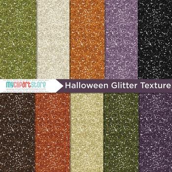 Digital Paper Texture - Glitter (Halloween)