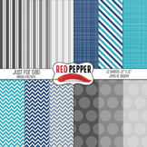 Digital Paper / Patterns - Just for Dad