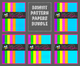 Digital Paper: Bright Patterns Bundle
