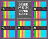 Digital Paper: Bright Patterns Bundle