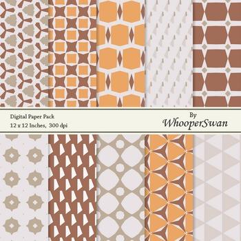 Digital Paper - Brown