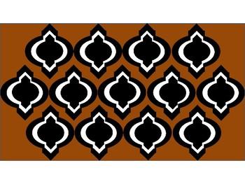Digital Paper - Brown Moroccan