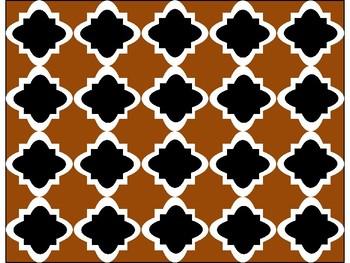 FREE Digital Paper - Brown Moroccan