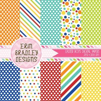 Digital Paper Bundle - Background Patterns
