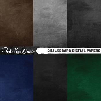 Digital Paper - Chalkboards