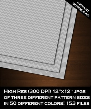 Digital Paper - Chevron Low Contrast