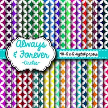 Digital Paper Circles