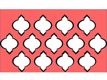 FREE Digital Paper - Coral Moroccan
