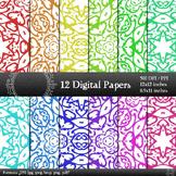 Digital Paper Corner Jpeg Album Graphics Background Seamle