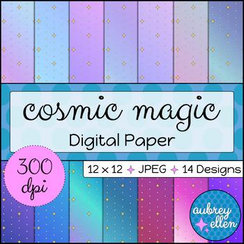 Digital Paper | Cosmic Magic