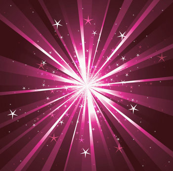 Digital Paper / Patterns - Cosmic Star Burst