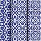 Digital Paper: Crayon Box Blue Set 1