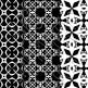 Digital Paper: Crayon Box Black Set 1