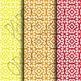Digital Paper: Crayon Box Designs Set 10