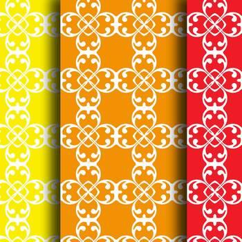 Digital Paper: Crayon Box Designs Set 2