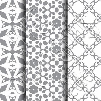 Digital Paper: Crayon Box Gray Set 1