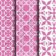 Digital Paper: Crayon Box Pink Set 1