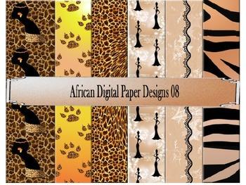 Digital Paper Designs 08