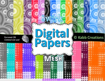 Digital Paper Designs Bundle!