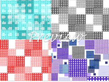 Digital Paper Designs!  Check type multi style patterns!