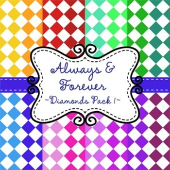 Digital Paper Diamonds Pack 1