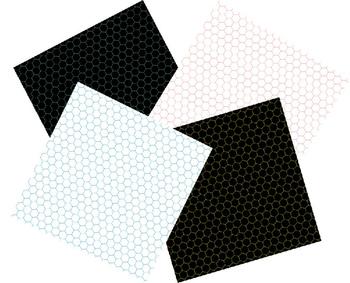 Digital Paper / Digital Background - Bright Honeycombs 2