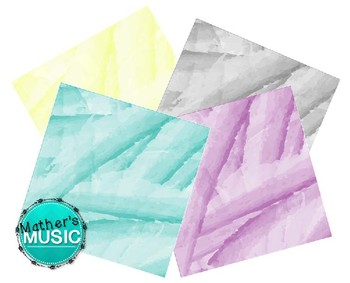 Digital Paper / Digital Background - Watercolor 2