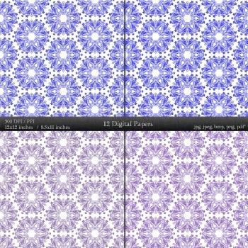 Digital Paper Digital Instant Download Sheet Background Collag Paper Seamless A4
