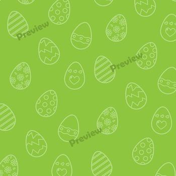 Digital Paper: Easter Backgrounds Clip Art