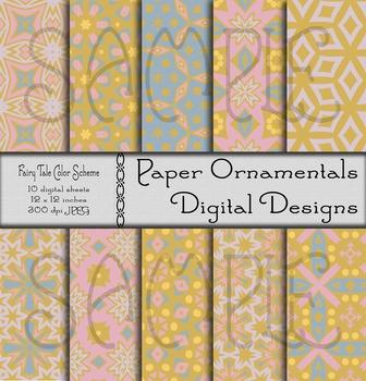 Digital Paper:  Fairy Tale