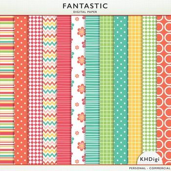 "Digital Paper - ""Fantastic"""
