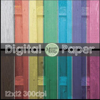 Digital Paper Fence Texture Pattern Backgrounds {Messare Clips and Design}