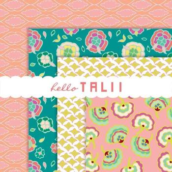 Digital Paper: Floral Patterns