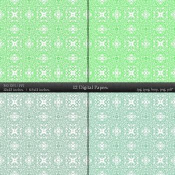 Digital Paper Flower Indian Card Scrap Booking Template Embellishment Cover A4