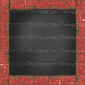 Digital Paper / Patterns - Framed Chalkboards