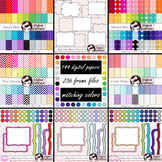 Digital Paper, Frames / Borders, Seller's Tool Kit Bundle