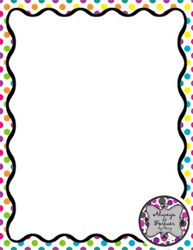 Digital Paper Freebie!  Crazy Fun Border Frames