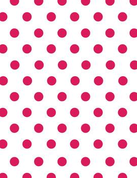 Digital Paper Freebie - Pink Dots