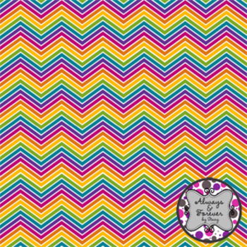 Digital Paper Freebie!  Taste the Rainbow