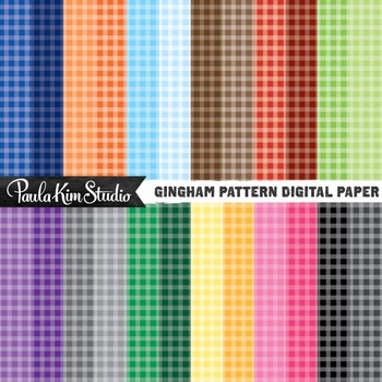 Digital Paper - Gingham
