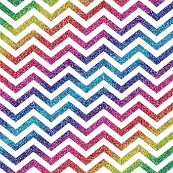 Digital Paper Glitter Chevron