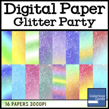 Digital Paper - Glitter Party